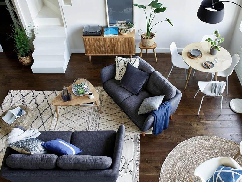 مسیر دسترسی و عناصر مهم در چیدمان وسایل فضاهای داخلی خانه