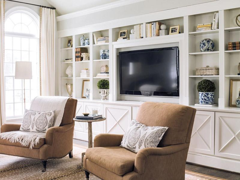 کاربردهای شلف و باکس دیواری و بهینهسازی فضا در آپارتمانهای کوچک